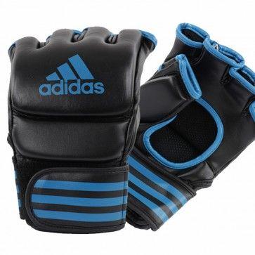 adidas Traditional Grappling Handschoenen Zwart Blauw