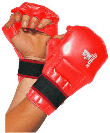 Hapkido mits rood