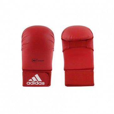 adidas WKF Karatehandschoen Zonder Duim Rood ADI661-22R