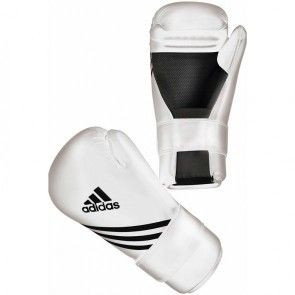 adidas Semi Contact Handschoenen Wit