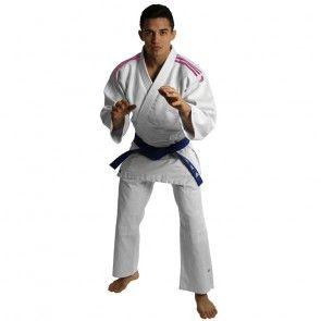 adidas Judopak J350 Club Wit/Roze ADIJ350WR