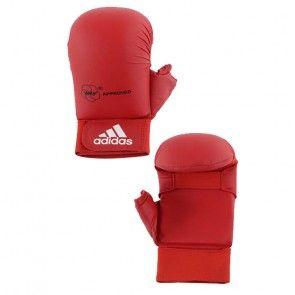 adidas WKF Karatehandschoen Met Duim Rood ADI661-23R