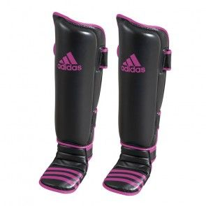Adidas Scheen- En Wreefbeschermers Economy Zwart/Roze