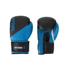 Matsuru 94197 amateur bokshandschoen zwart/blauw