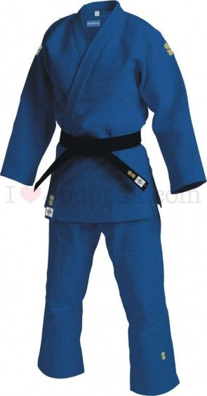 Essimo judopak Gold IJF Blauw