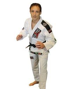 Essimo BJJ pak wit (Brazilian Jiu Jitsu)