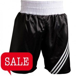 "adidas ""Multi"" Boxing Short Zwart/wit"